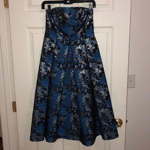 Top shop boutique metallic detailed dress
